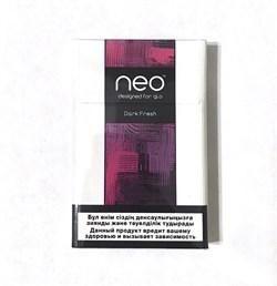 Стики NEO Dark Fresh 10 пачек - фото 4630