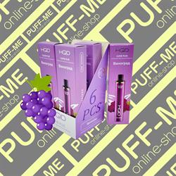 HQD Cuvie PLUS Grapey Виноград 1200 затяжек - фото 4778
