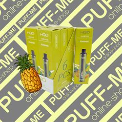 HQD Cuvie PLUS Ice Pineapple Ананас Лёд 1200 затяжек - фото 4784