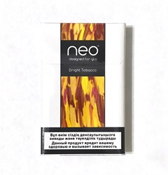 Стики NEO Bright Tobacco 10 пачек