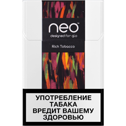Стики NEO Rich Tobacco 10 пачек