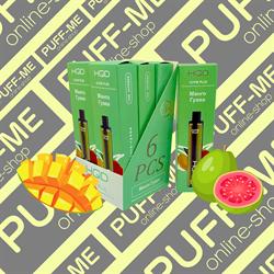 HQD Cuvie PLUS Mango-Guava Манго-Гуава 1200 затяжек